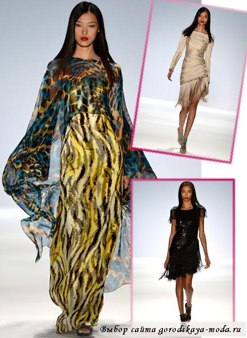 модные показы в Нью-Йорке 2013 фото