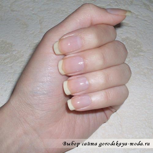 обрабатываем ногти