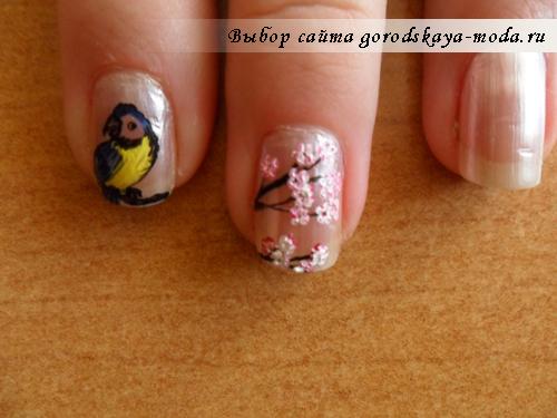 рисунок на ногтях своими руками