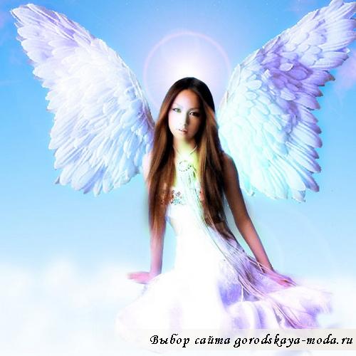 грим ангела фото