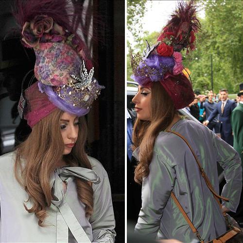 Миниатюра к статье Что на голове у Леди Гага?