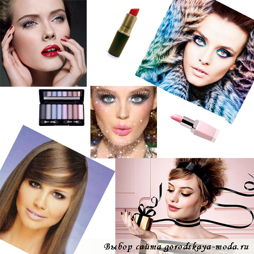 Миниатюра к статье Модный макияж на Новый год 2013