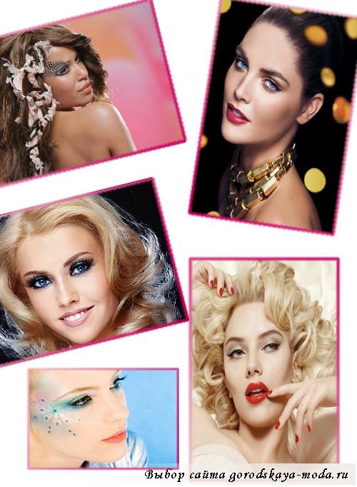 фото новогоднего макияжа 2013