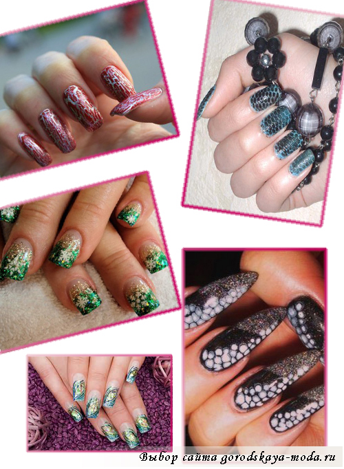 Миниатюра к статье Модный маникюр на новый год 2013: какой дизайн ногтей выбрать?