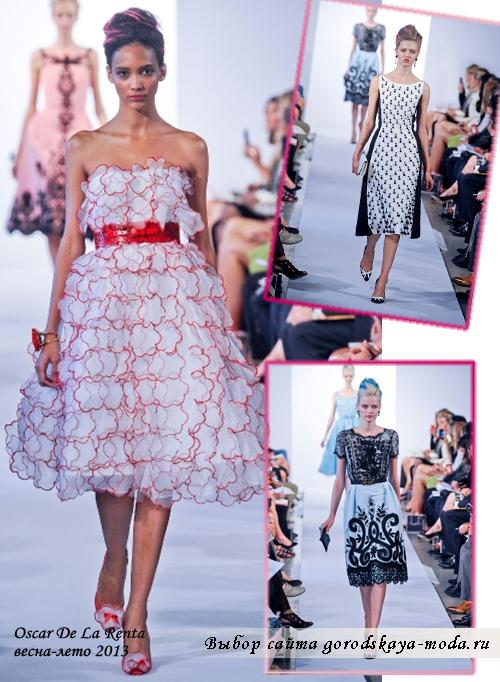 весна-лето 2013 модный показ в Нью-Йорке фото