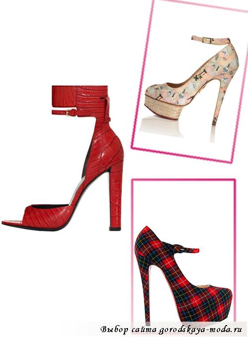 Миниатюра к статье Модные туфли на Новый год 2013