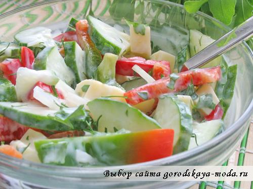 салат с рукколой фото