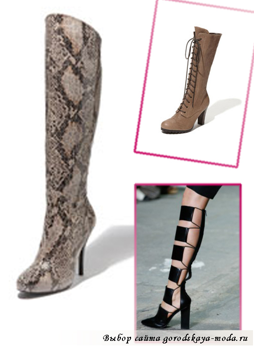 Миниатюра к статье Модные женские сапоги весна-лето 2013: самые модные модели сезона