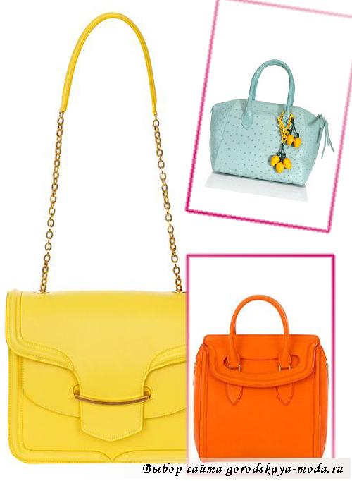 Миниатюра к статье Модные женские и мужские сумки весна-лето 2013