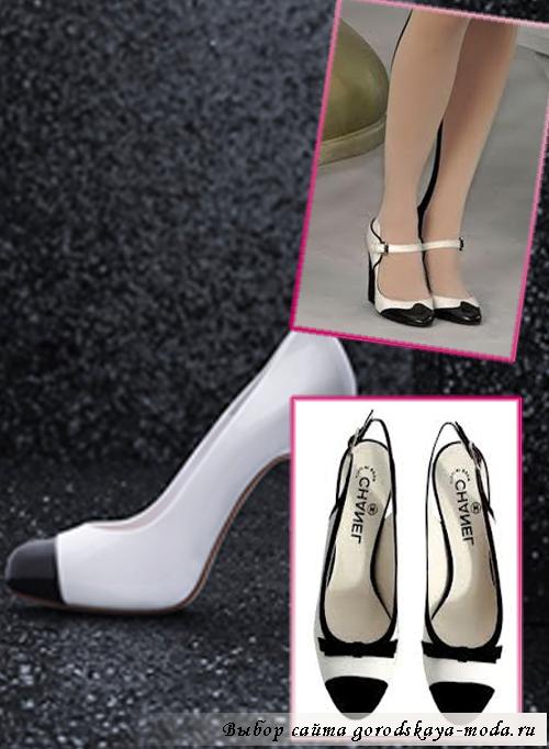 обувь от Коко Шанель