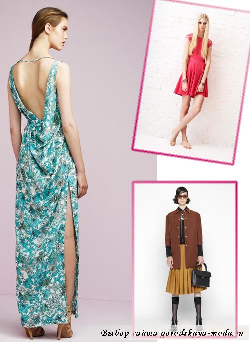Мода для женщин весна-лето 2013