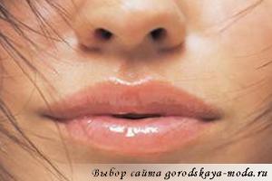 форма губ фото