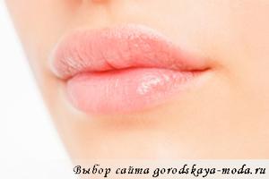 форма губ и характер