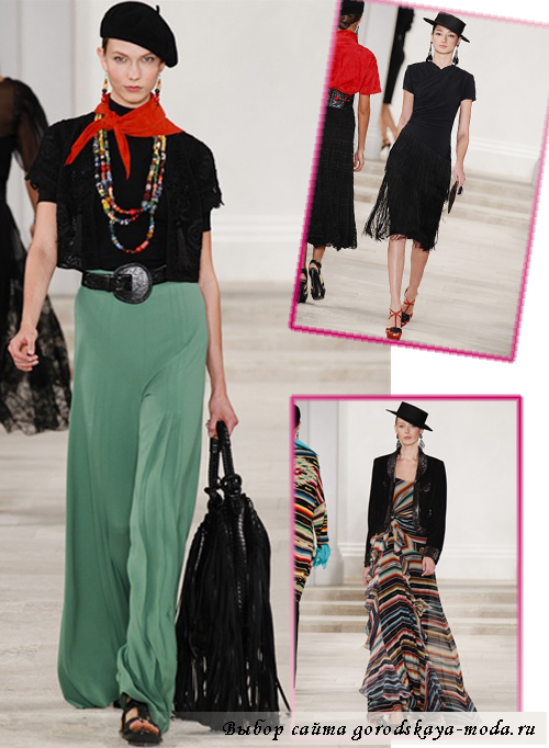 модная одежда весна 2013