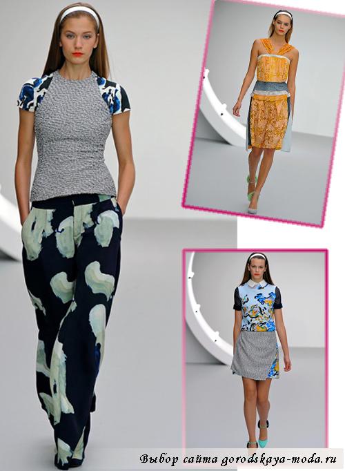 модные показы весна 2013 фото