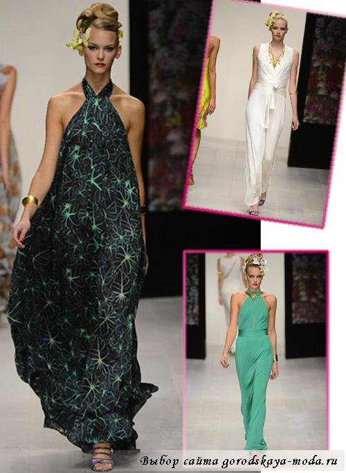 фото с модного показа в Лондоне Issa