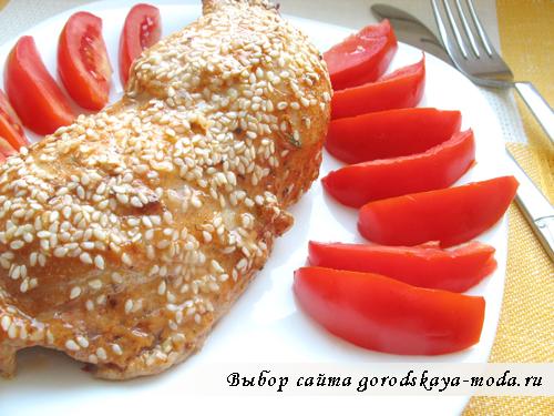 рецепт курицы в пикантном маринаде фото