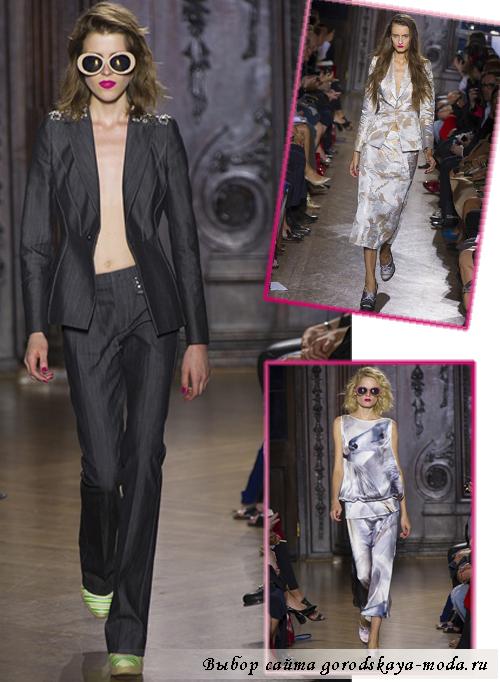 модные показы весна 2013
