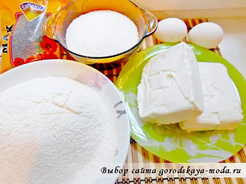 ингредиенты для ленивых вареников фото