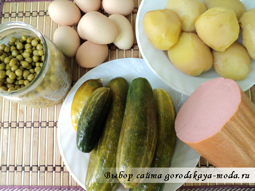 ингредиенты для оливье фото