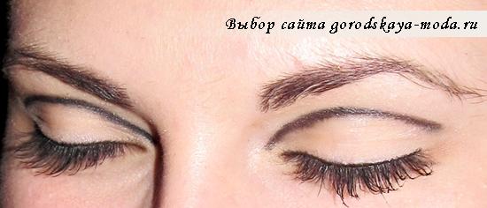 фото макияжа в стиле Твигги