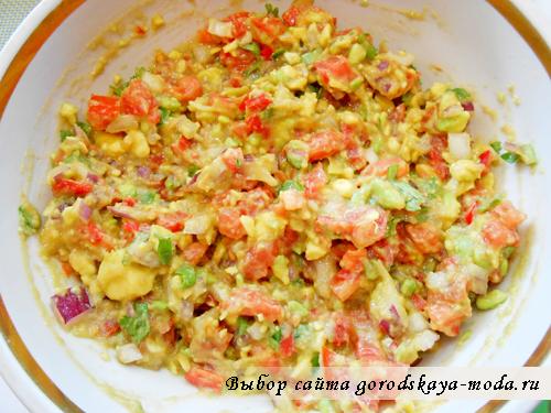 гуакамоле рецепт с фото