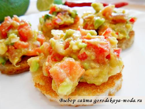 рецепт гуакамоле фото