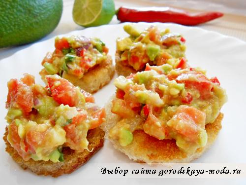Миниатюра к статье Гуакамоле рецепт соуса с фото