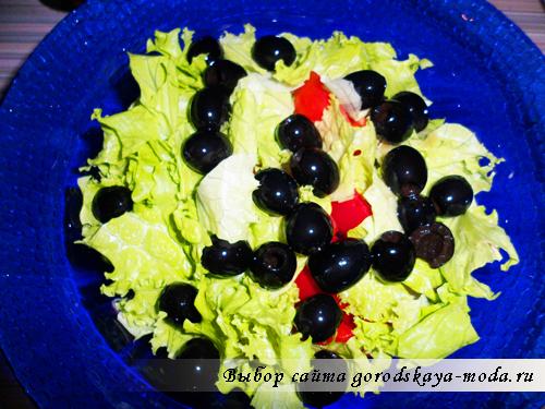 добавить маслины