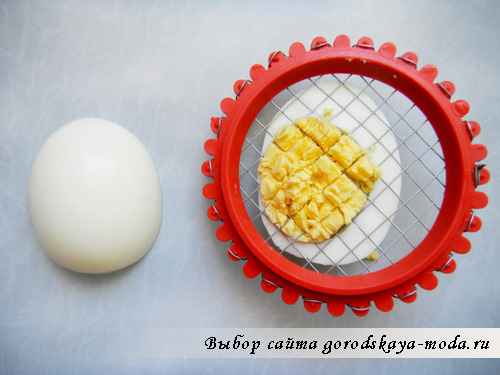 измельчить яйцо фото