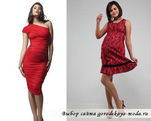 короткое платье для беременных фото