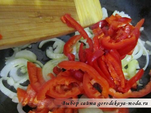 пассируем овощи