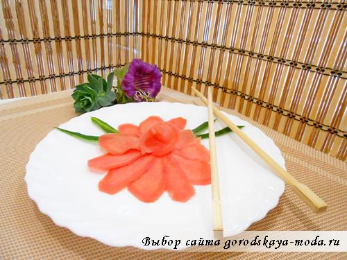 рецепт маринованного имбиря фото