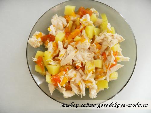 овощи вареные для диетического супа