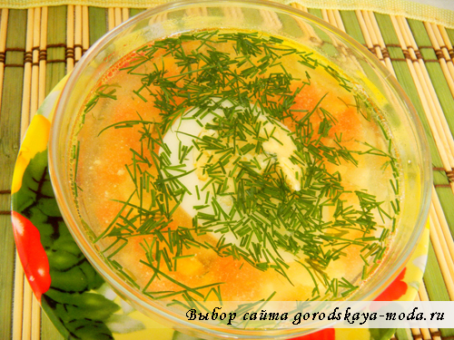 овощной диетический суп рецепт с фото