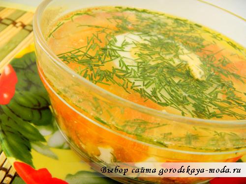 Миниатюра к статье Овощной диетический суп