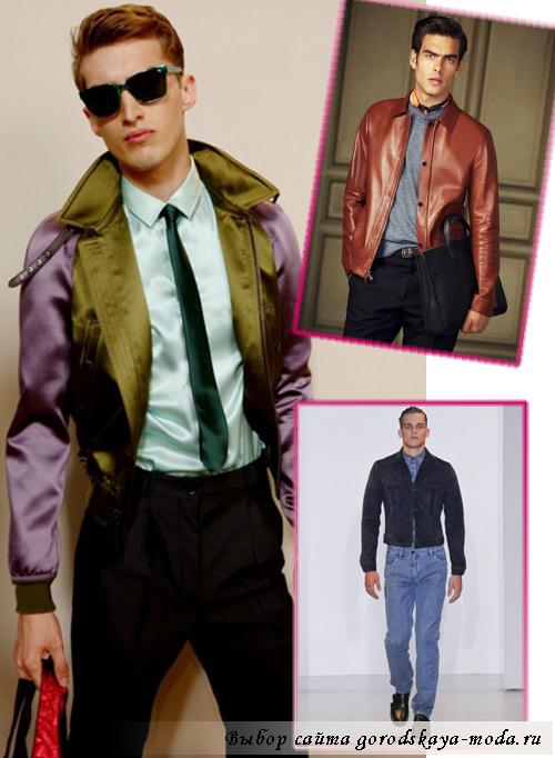 мужские куртки весна-лето 2013 фото