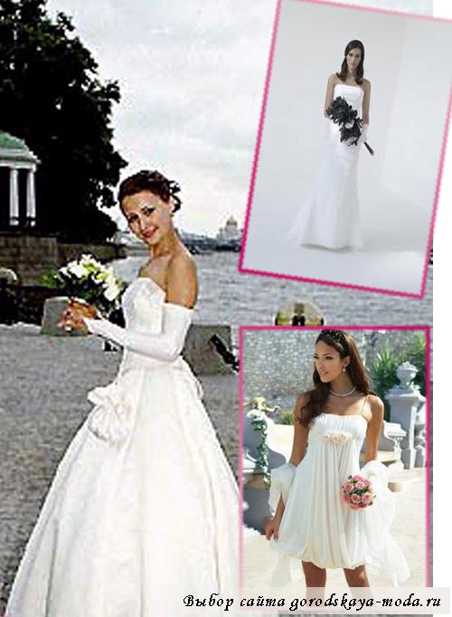 Миниатюра к статье Свадебные платья для невысоких девушек
