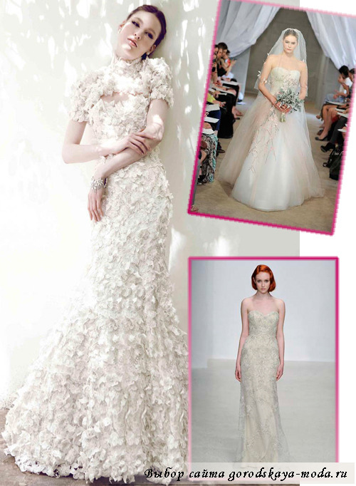 Миниатюра к статье Модные свадебные платья весна-лето 2013