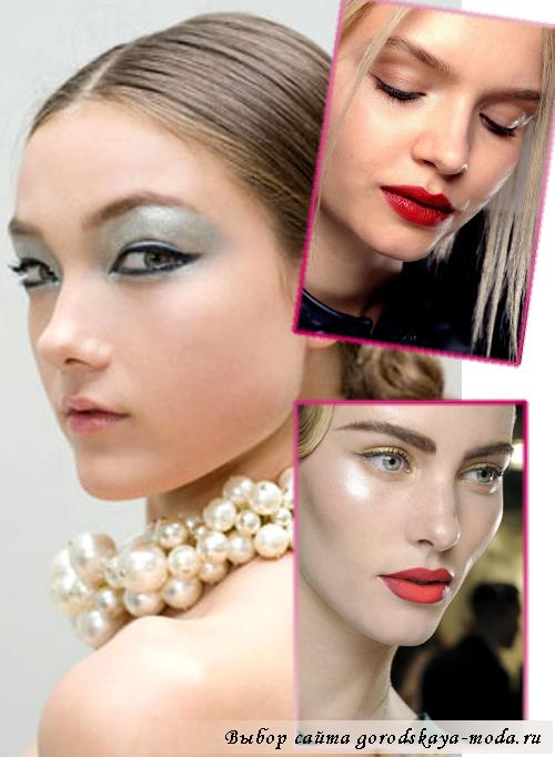 модный макияж весна-лето 2013