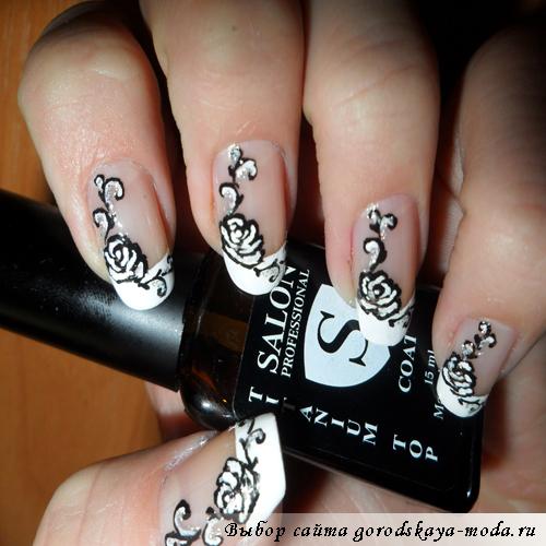как сделать рисунки на ногтях в домашних условиях