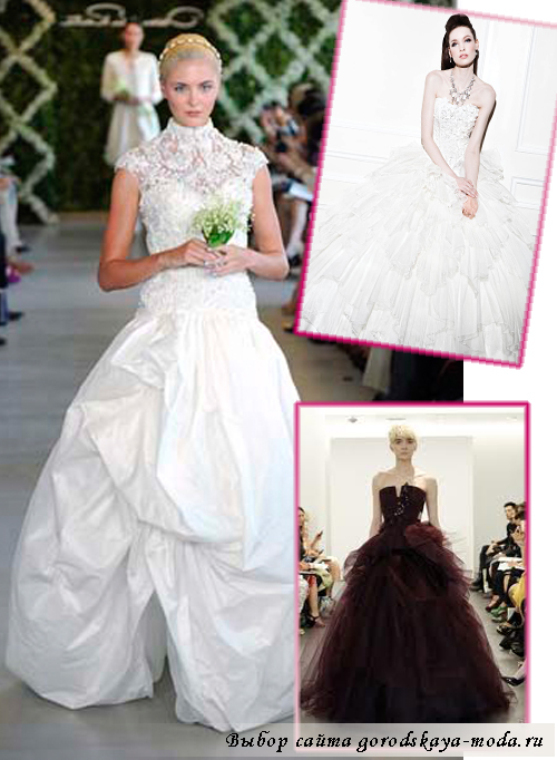 свадебные платья весна-лето 2013