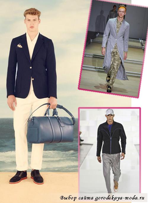 мужские брюки весна-лето 2013
