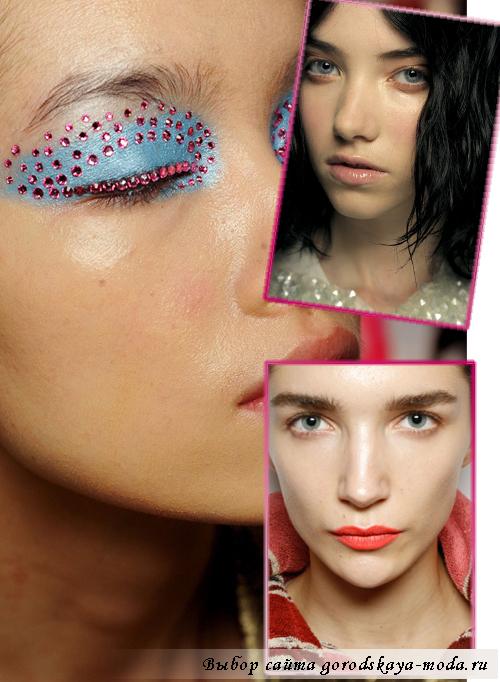 макияж сезона весна-лето 2013