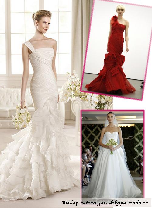 тенденции свадебных платьев весна-лето 2013
