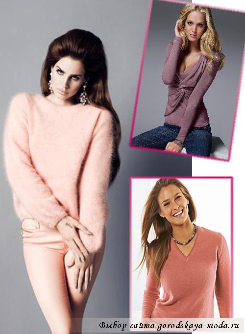 кашемировый свитер фото