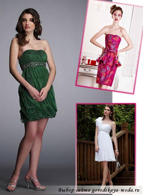Миниатюра к статье Модные коктейльные платья 2013
