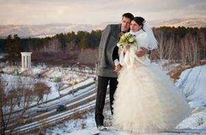 преимущества зимней свадьбы