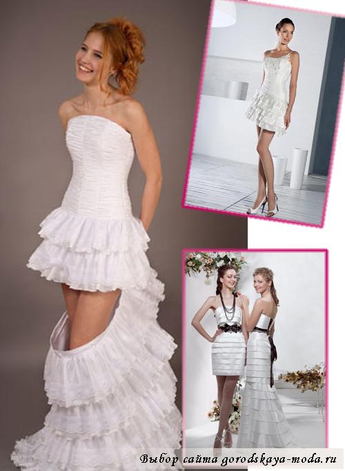дизайнерские свадебные платья-трансформеры