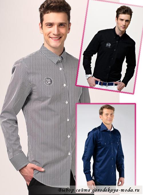 фото приталенные мужские рубашки